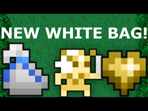RotMG New White Bag GET!! The new Heart of the Gold Prism!! Walkthrough!!