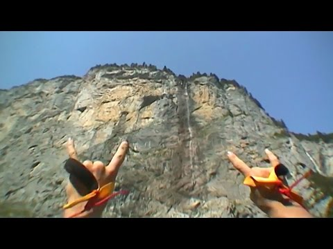 Lauterbrunnen BASE Jumping - 7 most extreme base jumping destinations in the world