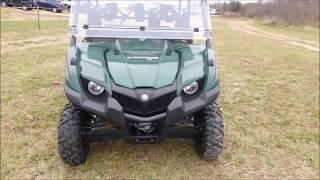 8. Demo 2018 Yamaha Viking IV EPS Hunter Green