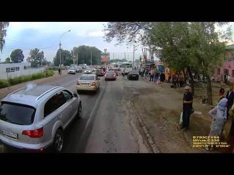 ДТП в Новосибирске на улице Хилокская