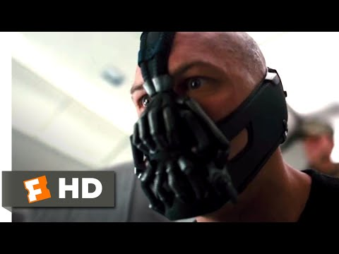 The Dark Knight Rises (2012) - Hijacking the Plane Scene (1/10) | Movieclips
