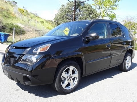 2005 Pontiac Aztek Rally Edition CUV GM Crossover SUV Breaking Bad Last Year Model V6 2 Owner 68K