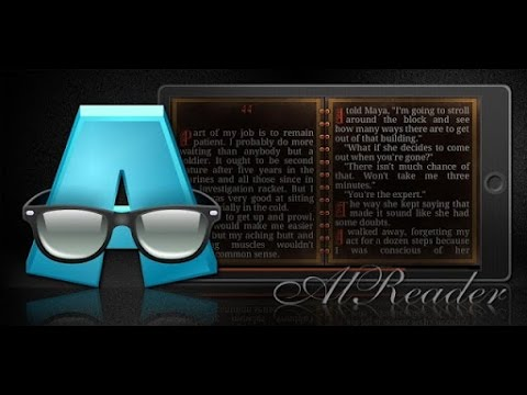 Video of AlReader -any text book reader