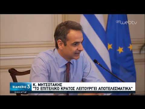 Κ.Μητσοτάκης: Το επιτελικό κράτος λειτουργεί αποτελεσματικά | 24/03/2020 | ΕΡΤ