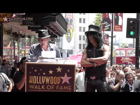 Slash Walk of Fame Ceremony