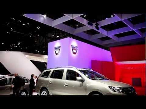 New Dacia Logan sneak preview – 2013 Geneva Motor Show