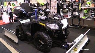 8. 2017 Arctic Cat VLX 700 Accessorized ATV - Walkaround - 2017 Toronto Snowmobile ATV Show