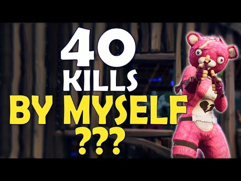 40 KILLS ALONE? | WORLD RECORD | MOST KILLS EVER IN FORTNITE HISTORY - (Fortnite Battle Royale)