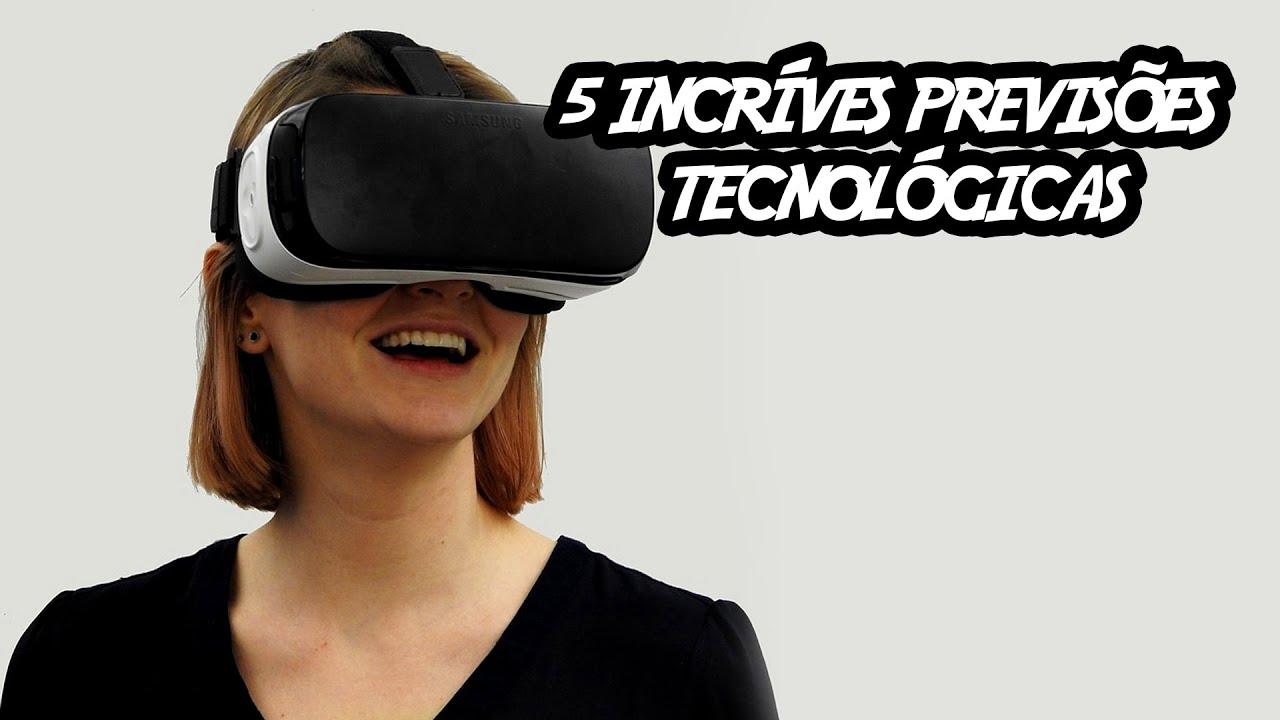 5 mais incríveis previsões tecnológicas