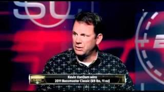 KVD visits ESPN SportsCenter