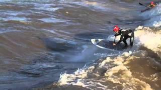 Surfing Colorado River