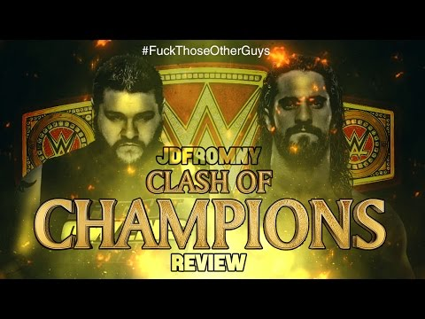 WWE Clash Of Champions 2016 9/25/16 Review & Results