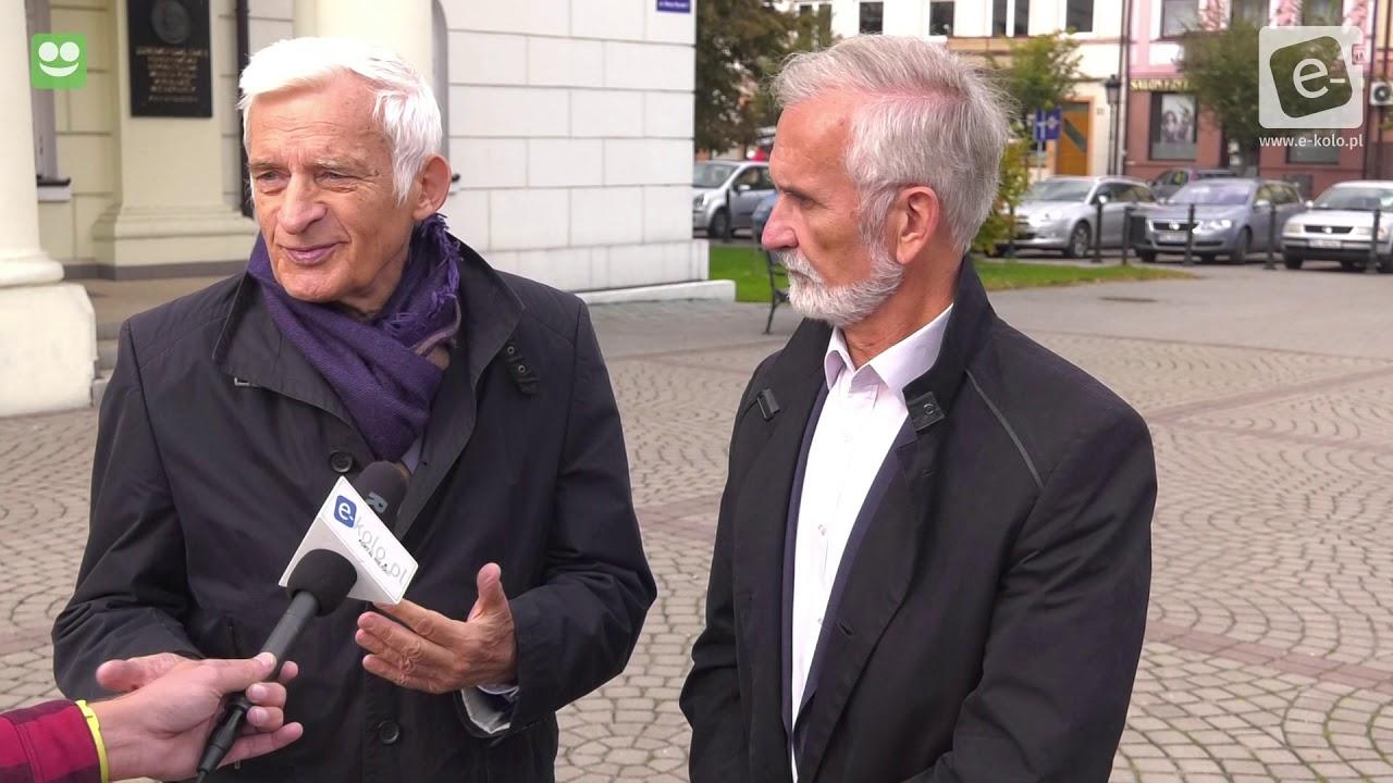 Eurodeputowany Jerzy Buzek poparł Ireneusza Niewiarowskiego