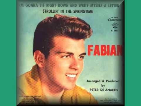 Tekst piosenki Fabian - I'm Gonna Sit Right Down (And Write Myself a Letter) po polsku