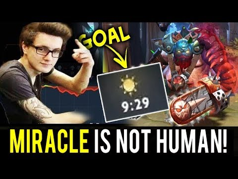 Not HUMAN Game with Miracle Pudge WTF 9 Min GG Dota 2 [MUST WATCH]