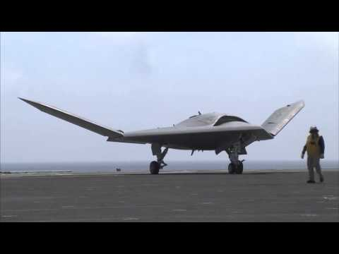 Unmanned Drones Landing Autonomously Next To F-18s Is A Very Big Deal