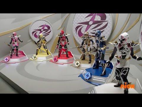 Power Rangers Super Ninja Steel - Sub Surfer Ninja Megazord Fight | Episode 4 \