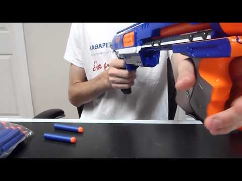 Review: The New 2012 Nerf Elite Rampage Review (Direct Plungers Are Back!)