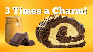 How to Make a Swiss Roll Cake ~ Chocolate Roll Cake Recipe Only Video PART 2 by Gretchen's Bakery