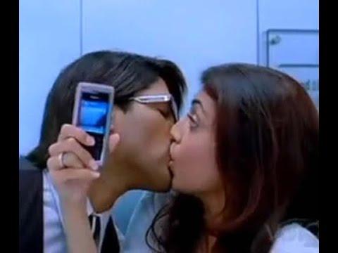 Kajal Agarwal Hot Kiss Scenes