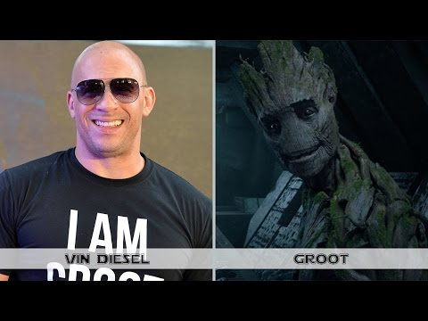 Guardians of the Galaxy: Actors Before and After