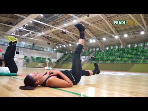 Szucsánszki Zita újra edzésben, készül a visszatérésre