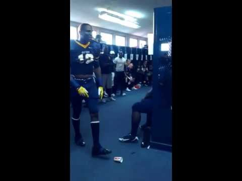 D'haquille Williams JUCO pre-game speech video.