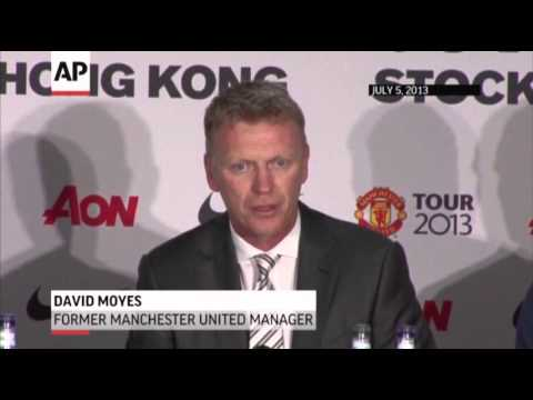manager - Overwhelmed by the giant task of replacing Alex Ferguson, Britain's greatest ever manager, David Moyes was fired by Manchester United on Tuesday after losing the support of the club's owners....