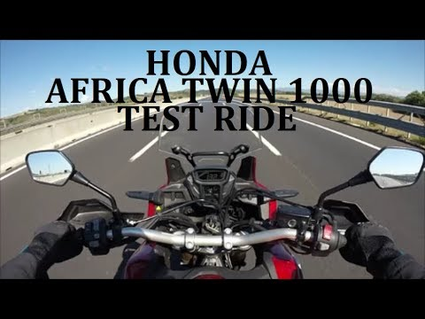 Honda Africa Twin 1000 Test Ride Completo