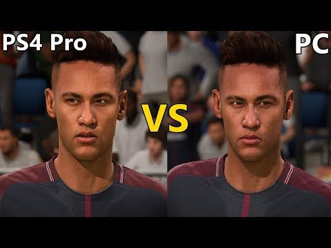 FIFA 18 Graphics Comparison (PS4 Pro Vs PC)