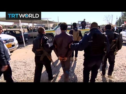 Video The Fight for Mosul: Hundreds of Daesh suspects detained download in MP3, 3GP, MP4, WEBM, AVI, FLV January 2017
