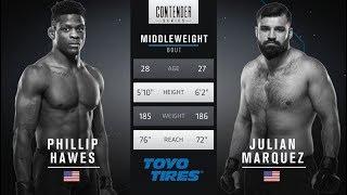 Video FREE FIGHT | Marquez Lands Devastating Head Kick | DWTNCS Week 4 Contract Winner - Season 1 MP3, 3GP, MP4, WEBM, AVI, FLV Juni 2019
