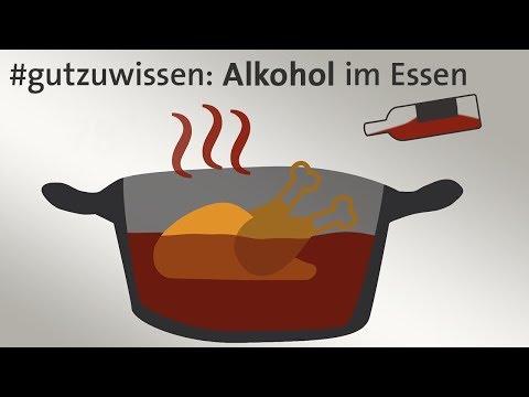 Alkohol im Essen