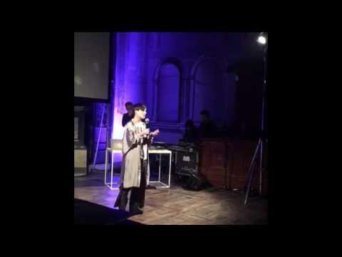 Rosaria Ricchiuto ricorda Carmelo Bene ad Alba (Cuneo)