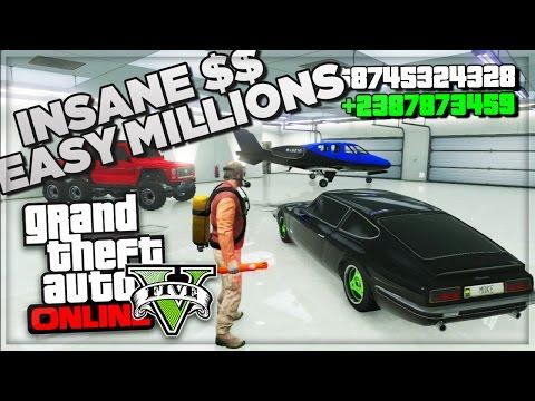 GTA 5 Online How To Make Money Fast Online – Best Online Cash Farm Method – (GTA V Gameplay)