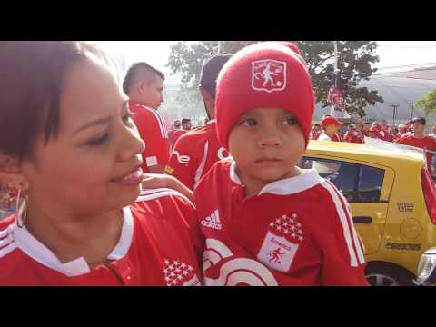 America de Cali vs Deportes Quindio, Ascenso 2016 - Baron Rojo Sur - América de Cáli