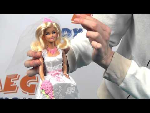 Barbie Royal Bride Doll / Braut /  Mariée / Barbie jako Panna Młoda - Mattel - www.MegaDyskont.pl