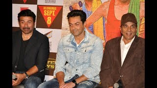 UNCUT- Sunny Deol, Bobby Deol, and Shreyas Talpade at Poster Boys Trailer LaunchLIKE and SHARE this video with your friends if you like it :)SUBSCRIBE To SpotboyE : Click Here ►https://goo.gl/Nf7gKiCheck out our cool website for a lot more updates: http://www.spotboye.comFollow us on Twitter at https://twitter.com/SpotboyeLike us on Facebook at https://www.facebook.com/Spotboye
