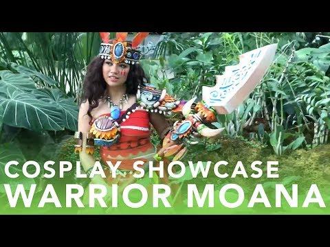 Warrior Moana Cosplay Showcase