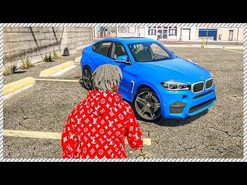 REAL LIFE MOD #63 - Franklin Test Drives BMW X6M, HUGE Road Traffic Accident on Bridge (GTA 5 MODS)