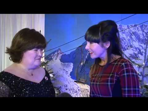 Susan Boyle talks dream Elvis Christmas duet and sings with STV's Laura  Talk TV  Shows  STV