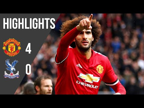 Manchester United 4-0 Crystal Palace   Premier League Highlights (17/18)   Manchester United