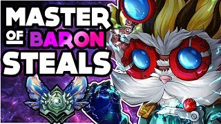 Heimerdinger the Master of Baron Steals! Some crazy outplays for you bros!MUSIC in video - Prefekt - Numb ft. Johnning [Copyright Free]:https://www.youtube.com/watch?v=0ggygGxNvWU FOLLOW ME ON SOCIAL MEDIA BROS! 💙- Twitch: http://www.twitch.tv/rezonegames- Twitter: https://twitter.com/RezoneGAMES- Instagram: https://instagram.com/rezonegames- Facebook: https://www.facebook.com/rezonegames- Support me through Patreon: https://www.patreon.com/user?u=873643Each game is ranked and against players of same caliber!- Cheers for watching you lovely people of the internet! -Sub & Like! and I'll love you forever!RezoneGAMES™