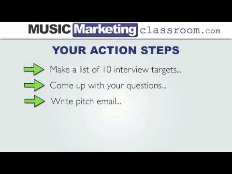 Music Marketing Challenge Day 21 – Interview Blog Posts