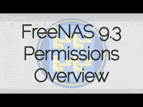FreeNAS® 9.3 Permissions Overview