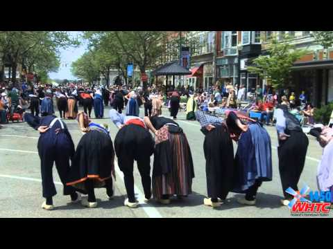 A video montage of activities before and during the Kinderparade at Holland&#39;s Tulip Time Festival on May 9, 2013.