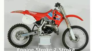 1. [erheriada] 2006 Honda CR 125R - Specification