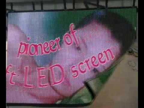 Katlanabilir Led Ekran