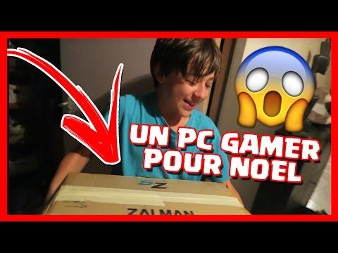 J'OFFRE UN PC GAMER A MON PETIT FRERE POUR NOEL !