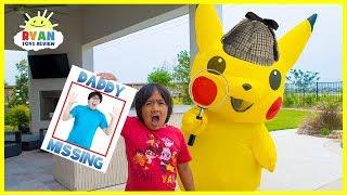 Video Pokemon Detective Pickachu and Ryan finds Daddy!!! MP3, 3GP, MP4, WEBM, AVI, FLV Mei 2019